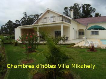 Page d 39 accueil de villa mikahely chambres d 39 h tes et for Villa du jardin singapore